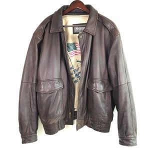 Wilsons  Leather Bomber Jacket Thinsulate Lining
